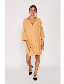 Vestido túnica Mostarda
