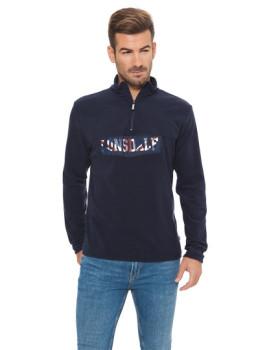 Camisola Polar Lonsdale Azul Escura