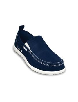 Sapato Masculino Croc Azul Marinho e Branco