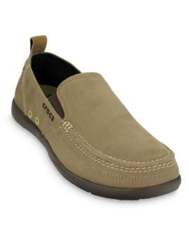 Sapato Crocs Walu Men Khaki e Espresso