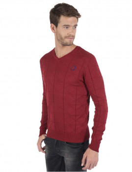 Pullover Target Sir Raymod Tailor Bordeaux