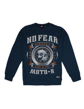 Sweatshirt de Homem In Dirt We Trust Azul Navy