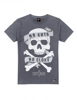 T-Shirt de Homem No Guts CInza Escuro