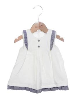 Vestido Bebé Girandola Branco