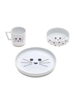imagem de Serviço de Mesa Little Chums Cat4