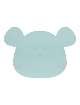 imagem de Individual em Silicone Little Chums Mouse Azul2