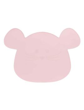 imagem de Individual em Silicone Little Chums Mouse Rosa1