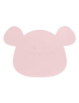 imagem de Individual em Silicone Little Chums Mouse Rosa2