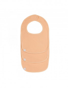 imagem de Babete Para Recém Nascido Peach (Pack 3 Unidades)2
