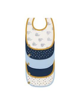imagem de Babete Impermeável Water Whale (Pack 5 Unidades)1