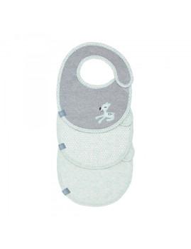 imagem de Babete Impermeável Llela Light Mint (Pack 3 Unidades)1