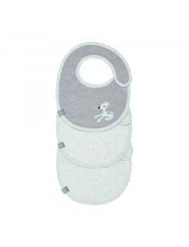 imagem de Babete Impermeável Llela Light Mint (Pack 3 Unidades)2