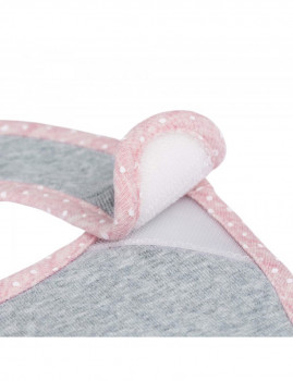 imagem de Babete Impermeável Llela Light Pink (Pack 3 Unidades)5