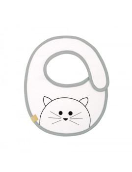 imagem de Babete Impermeável Little Chums Cat3