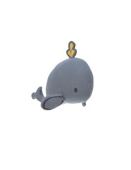 imagem de Brinquedo de Tecido c/ Chocalho E Textura Baleia 4