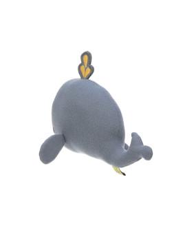 imagem de Brinquedo de Tecido c/ Chocalho E Textura Baleia 5