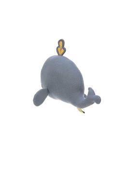 imagem de Brinquedo de Tecido c/ Chocalho E Textura Baleia 6