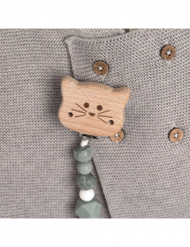 imagem de Corrente Para Chupeta Little Chums Cat3