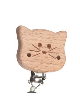 imagem de Corrente Para Chupeta Little Chums Cat7
