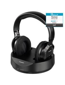 imagem de Ascultador sem fios Rf on-ear WHP3001 preto1