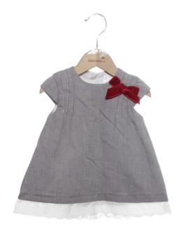 Vestido Bebé Girandola Cinza