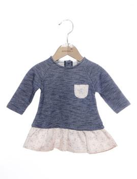 Vestido Bebé Girandola Azul