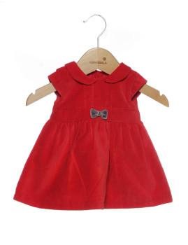 Vestido Vermelho Bebé
