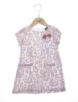 Vestido Mini Girandola Rosa