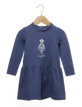 Vestido Azul Rapariga