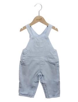 Jardineira Bebé Girandola Azul Claro