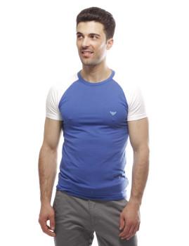 T-shirt  Emporio Armani Azul Ceu