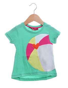 T-shirt Agatha Ruiz De La Prada Beach Ballon Verde