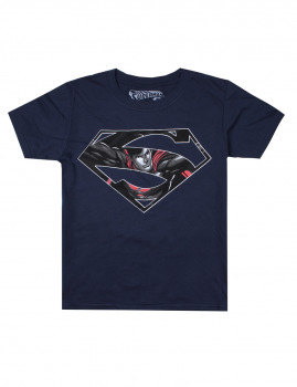 T-shirt DC Comics Superman Icon Azul Navy
