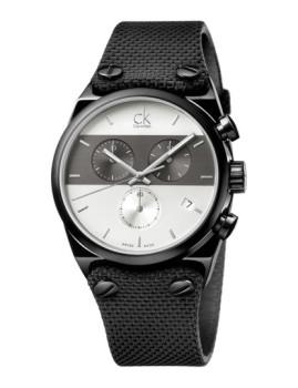 Relógio Calvin Klein Eager Preto e Cinza