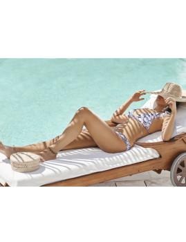 Bikini Malai Aloha Pink 413 Padrão Misto