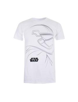 T-Shirt Trooper Outline Branco Homem