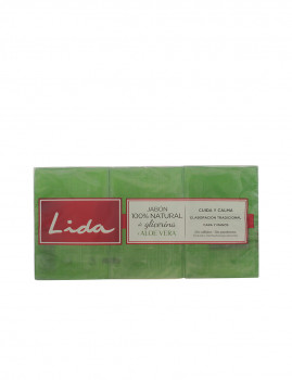 sabão 100% Natural Glicerina e Aloe Vera Lote 3 Pz Lida