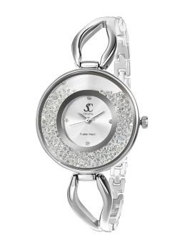 Relógio de Senhora by SC Crystal® Prateado