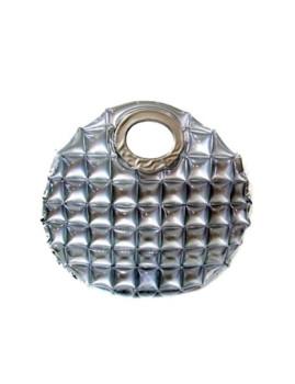 Mala Circular Water Bag Prateada