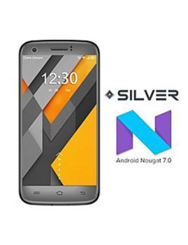"Smartphone Silver® P5 com Ecrã de 5"" HD"