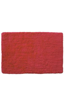 Tapete De Casa De Banho Vermelho 3Cm Pile
