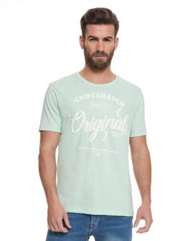 T-shirt Homem Sunburys Verde Menta