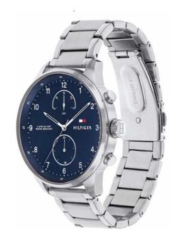 imagem de Relógio Homem Prateado e Azul2