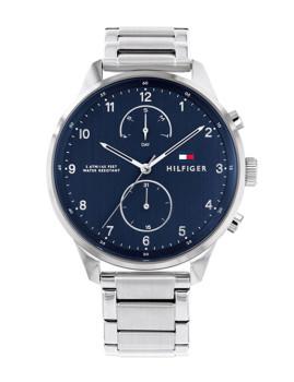 imagem de Relógio Homem Prateado e Azul1