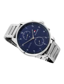 imagem de Relógio Homem Prateado e Azul3
