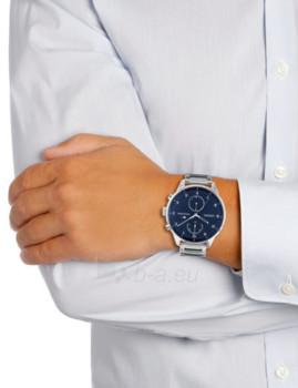 imagem de Relógio Homem Prateado e Azul7
