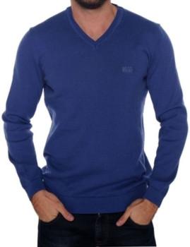 Pullover Azul Índigo Homem Hugo Boss