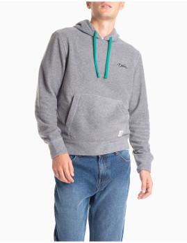 Sweatshirt Com Capuz Cinzenta Homem MO