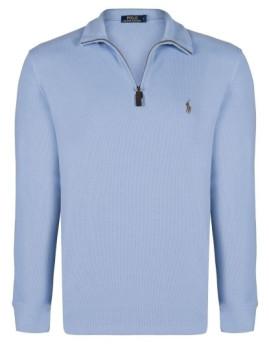 Camisola Zipper Azul Homem Ralph lauren