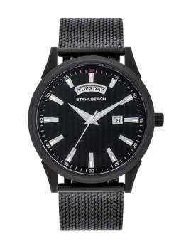 Relógio Stahlbergh Têxtil Preto